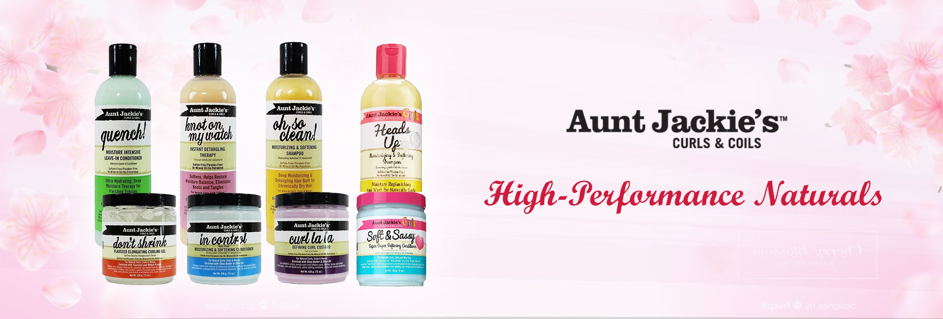 Africa's Best Aunt Jackie hair care products