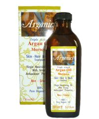Arganics - Triple Action Argan Oil - Skin, Hair & Nails - 5.2 Fl Oz / 150ml