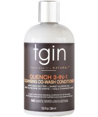 TGIN - Quench 3-in-1 Co-wash Conditioner and Detangler - 13.0 Fl.Oz / 384ml