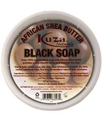 Kuza - African Shea Butter - Black Soap - 8 Oz / 227g