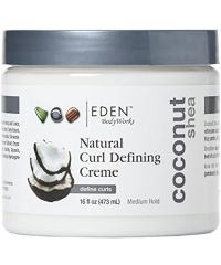 Eden - Coconut Shea Natural Curl Defining Creme - 16 Fl Oz / 473ML
