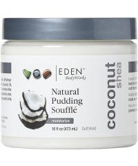 Eden - Coconut Shea - Natural Pudding Souffle - 16 Fl Oz / 473ML
