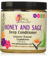 Alikay Naturals - Honey and Sage Deep Conditioner - 8 Oz / 227g