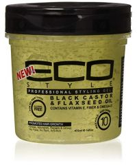 ECOSTYLER Black Castor Oil Flaxseed 16oz