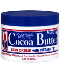 HOLLYWOOD BEAUTY Cocoa Butter Jar 250g + 40% Free