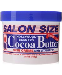 HOLLYWOOD BEAUTY Cocoa  Butter Jar 25oz (2doz)