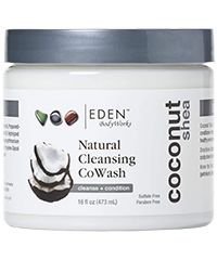 Eden - Coconut Shea All Natural Cleansing CoWash - 16 Fl oz