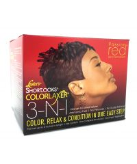 LUSTER'S Colorlaxer  Relax Kit 3 In 1 Passion Red