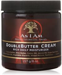 AS I AM Double Butter Rich Daily Moist 8oz