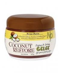 Nature's Protein - Coconut Restore Styling & Setting Gelee - 8 Oz / 227g