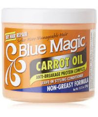 Blue Magic - Carrot Oil Leave-in Styling Conditioner - 390g