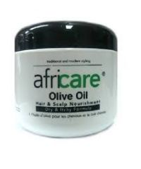 Africare - Olive Oil Hair and Scalp Nourishment - 4 Oz / 115g