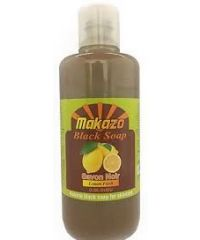 Makazo - African Black Soap - Daily Body Wash - Aloe Vera - 977ml
