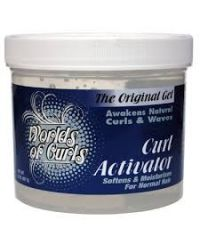 Worlds Of Curls - Curl Activator - For Normal Hair - 32 Oz / 907g