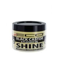 Ecostyler - Black Castor & Flaxseed Oil Shine Gel - 236ml