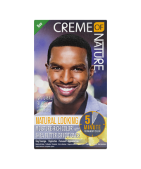 CREME OF NATURE HAIR COLOR For Men Natural Black