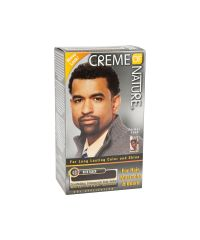 CREME OF NATURE HAIR COLOR For Men Rich Black
