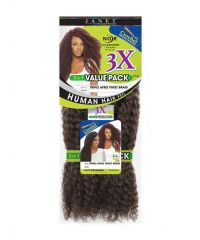 Janet Triple Afro Twist Braid Value Pack