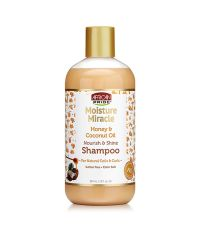 AFRICAN PRIDE Miracle Honey & Coconut Oil Shampoo 12oz