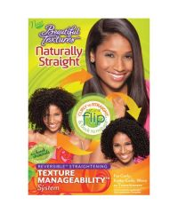 BEAUTYFUL TEXTURES Naturaly Straight Text Manage Kit