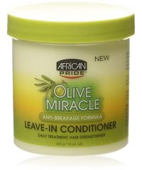 AFRICAN PRIDE Olive Leave In Cond Cream 15oz