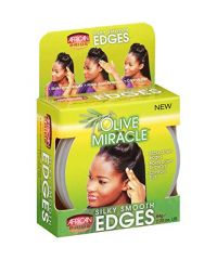 AFRICAN PRIDE Olive Silky Smooth Edges 2.25oz