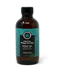 Jamaican Mango & Lime - Hemp Oil Infused with Black Seed Oil - 4 Fl Oz / 118ml