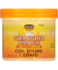 AFRICAN PRIDE Shea Butter Curl Styling Custard 12oz