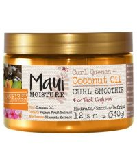 Maui Moisture - Curl Quench + Coconut Oil Curl Smoothie - 12Oz / 340g