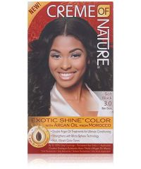 CREME OF NATURE HAIR COLOR Soft Black