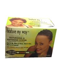 AFRICA's BEST ORGANICS Women Organic Combthru Text Kit